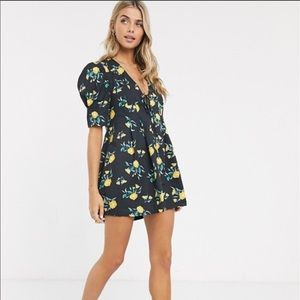 💋NEW LISTING💋NWT Free People Adelle Floral Tunic